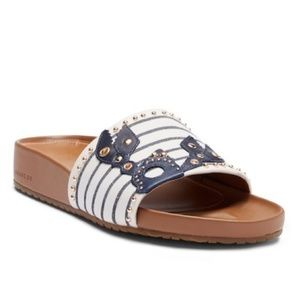 Cole Haan Women's Pinch Slide Sandals NEW IN BOX